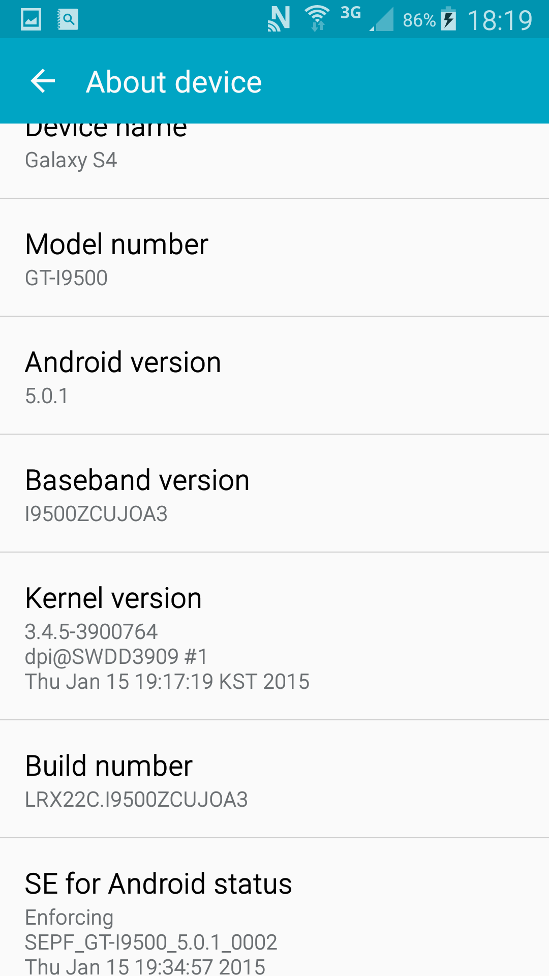 Android Lollipop pe Galaxy S4 i9500