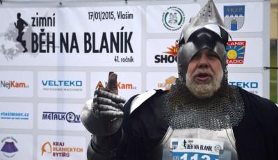 Běžci se vydali na Blaník, rytíře nevzbudili