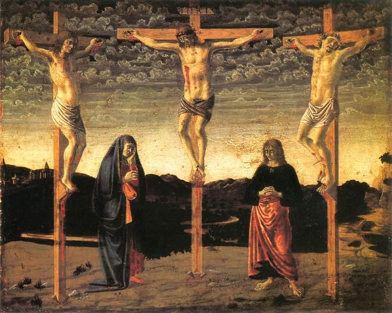 Andrea_del_Castagno_-_Crucifixion_-_WGA00349