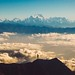 That peak in the middle is Mt Everest by Matt Lief Anderson