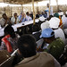 Joint Working Group (JWG) team on UNAMID exit strategy meets with leaders of IDP community in Alslam camp, near Nyala