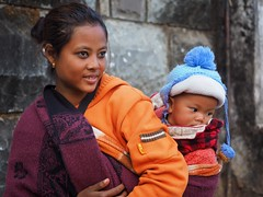 Kohima - Mother and child