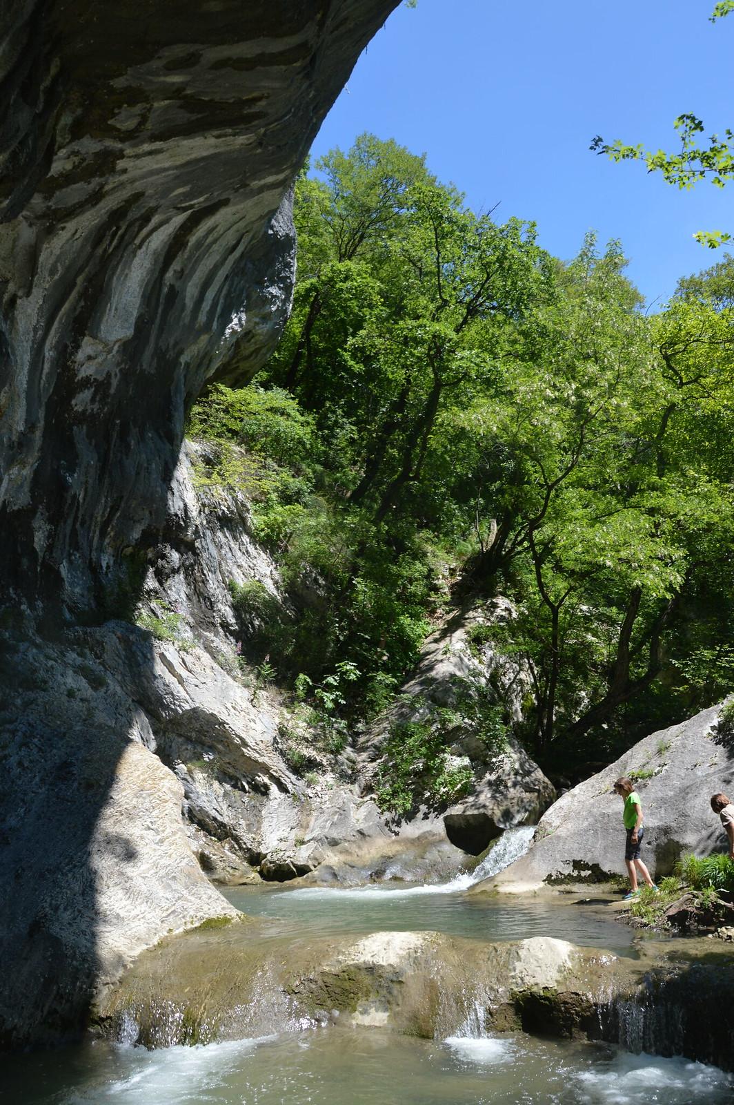 Kanjon Vipavske Bele - v plezalnem vrtcu