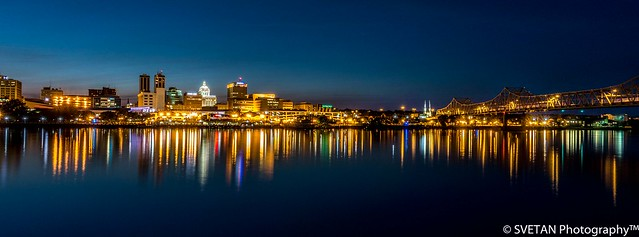 RIVERFRONT BLUE HOUR