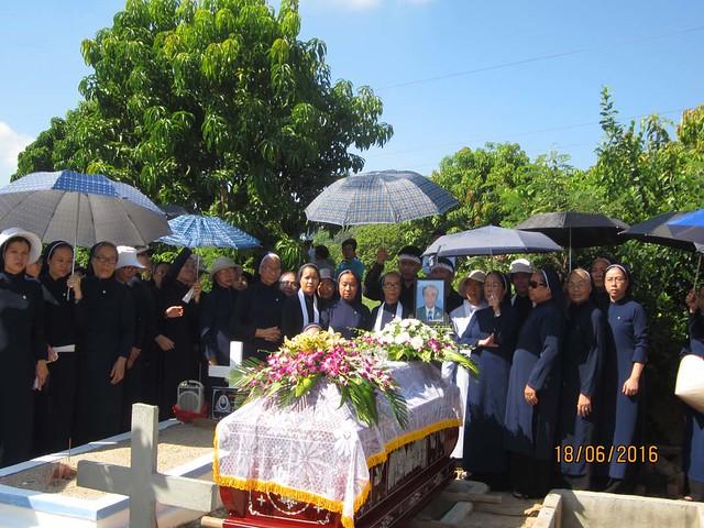 Tin buồn: Thân phụ Chị Matta Diệu Linh & Chị M. Mad. Tịnh Lâm đã qua đời