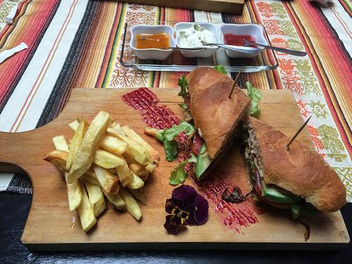 Loja: sandwich végétarien