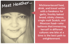 meet heather b&w label
