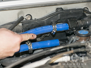 Helton hot water system install land cruiser