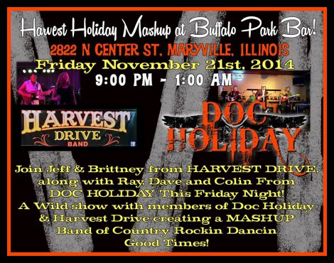 Harvest Holiday Mashup 11-21-14