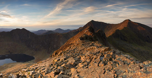 Daybreak - The Snowdon Horseshoe