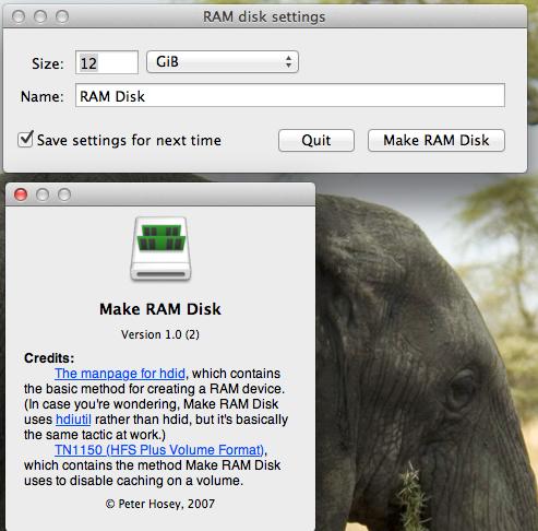 RAM disque
