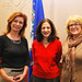 Rep. Gail Lavielle (center) (R-143) , author, Alison Jacobson (left) and Katie Banzhaf, Executive Director at STAR Inc., attended a Connecticut Council On Developmental Disabilities forum, Dec. 3,  at the Legislative Office Building, Hartford.