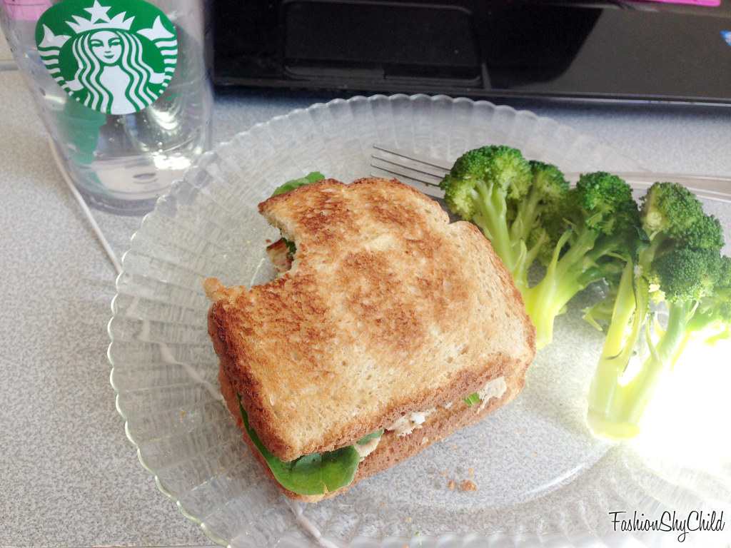 Tuna Spinach Sandwich