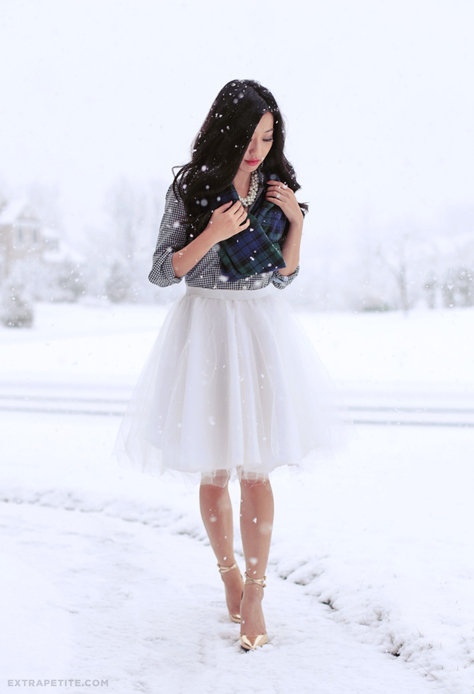 tulle circle skirt DIY tutorial2
