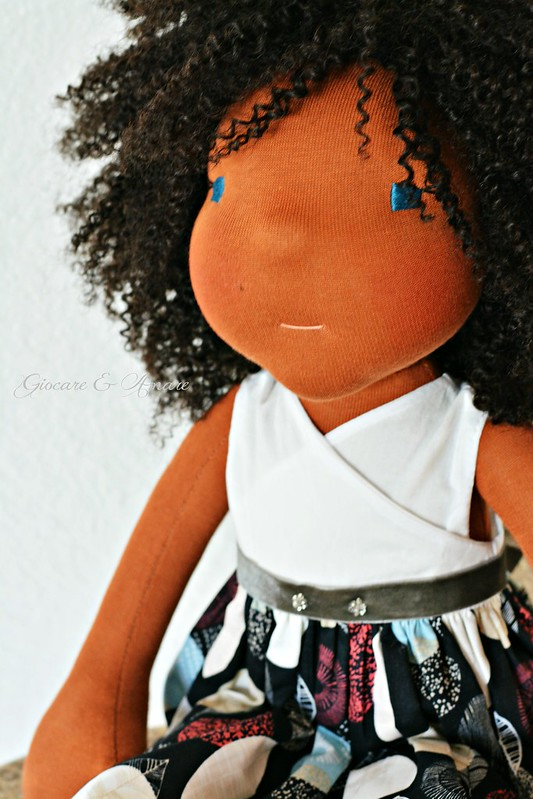India - a 21 inch cloth doll