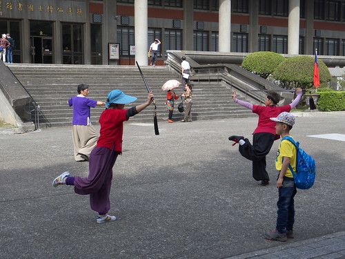 photographfreelance posted a photo:TAIWAN. Taipei. 30 Oct. 2014 Tai Chi Chuan with Swords at Sun Yat-sen Memorial Hall.