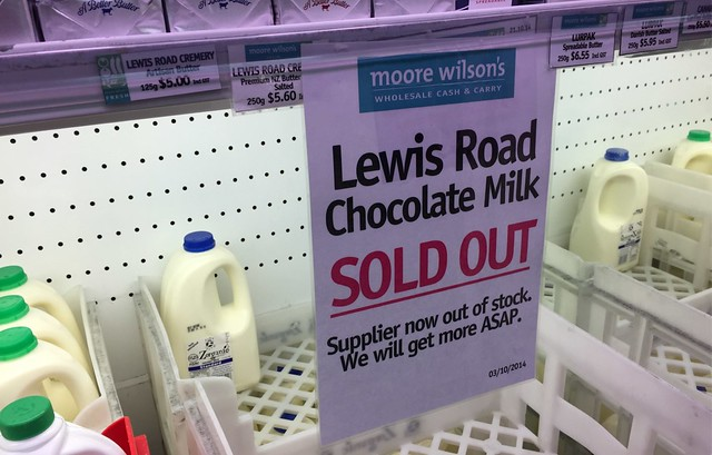 Lewis Road Creamery Chocolate Mils is Sold Out