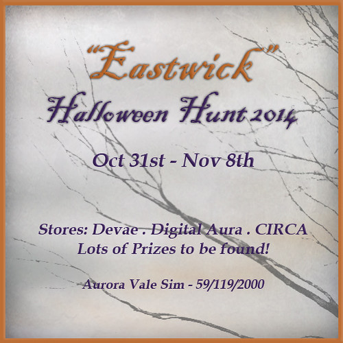 "CIRCA's ""Eastwick"" - Halloween Hunt 2014 Poster"