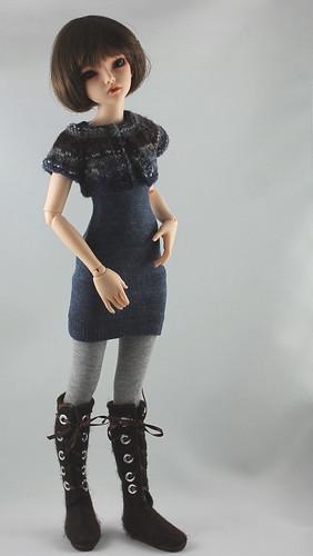 Rockin' the Sock Dress
