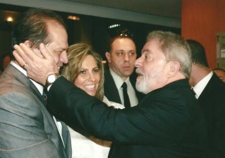 Lula, Ricardo e Cida