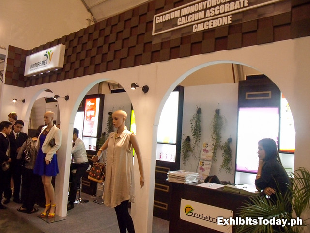 Calcebone Exhibit Stand