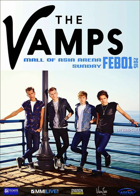 Meet the vamps tour the vamps live in manila maison magloyuan british pop band the vamps is scheduled to perform at the mall of asia arena pasay city on february 1 2015 800 pm m4hsunfo