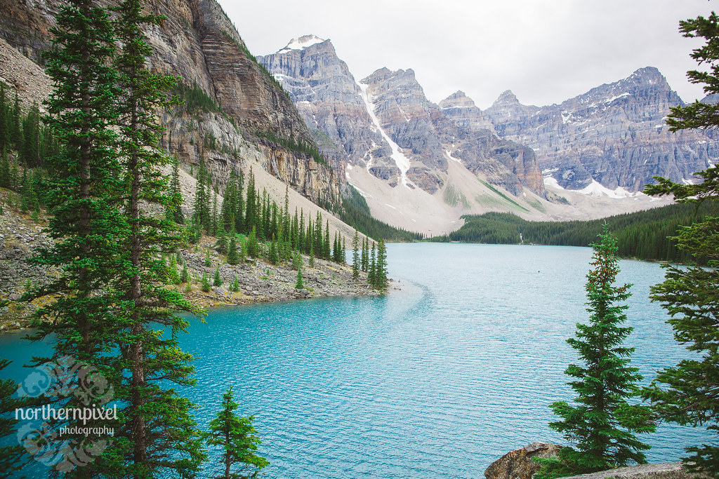 Moraine Lake Alberta Wedding Rocky Mountain Elopement