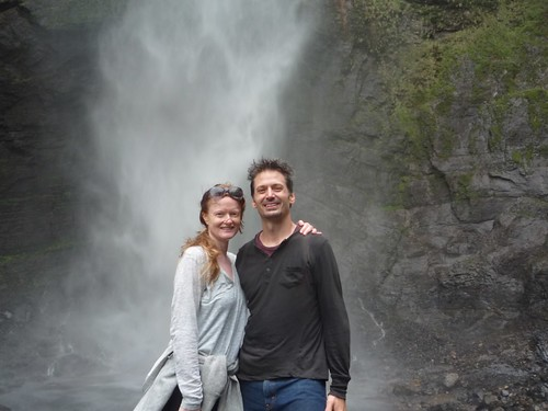 Drenched at one of the World's Largest Waterfalls (Gokta)