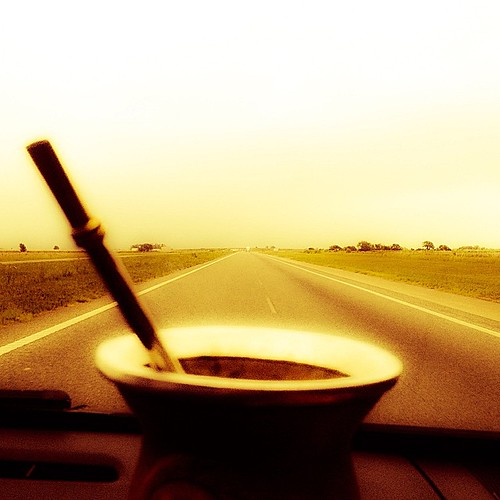 On the road... with our dear friend always present #mate