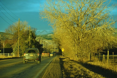 boulder co colorado jayroad road jay cars traffic morning sunrise everybodylovesasunrise