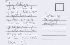 Montgomery Primary: Star's postcard to a chil…