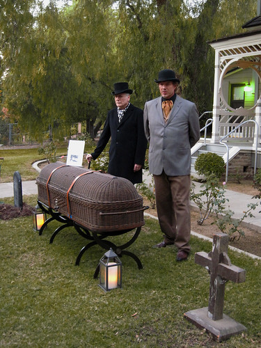 Victorian Style Funeral at the Doctors House in Glendale