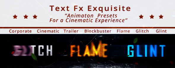 Text fx Exquisite