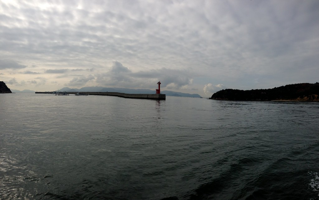 View from Ferry to Naoshima