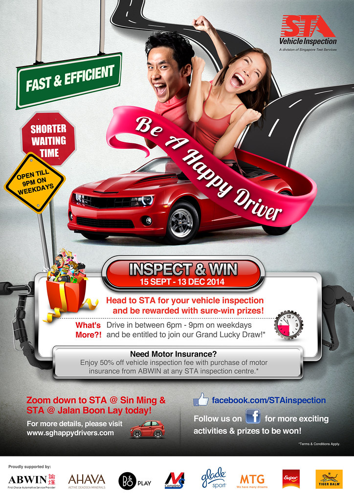 Contest Shoutout for Motorists: Inspect your Vehicle and Win with STA Inspection! - Alvinology