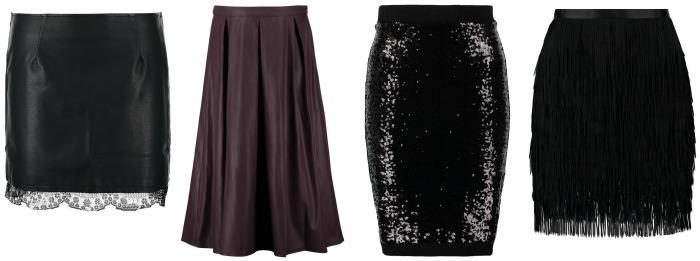 faldas fiesta