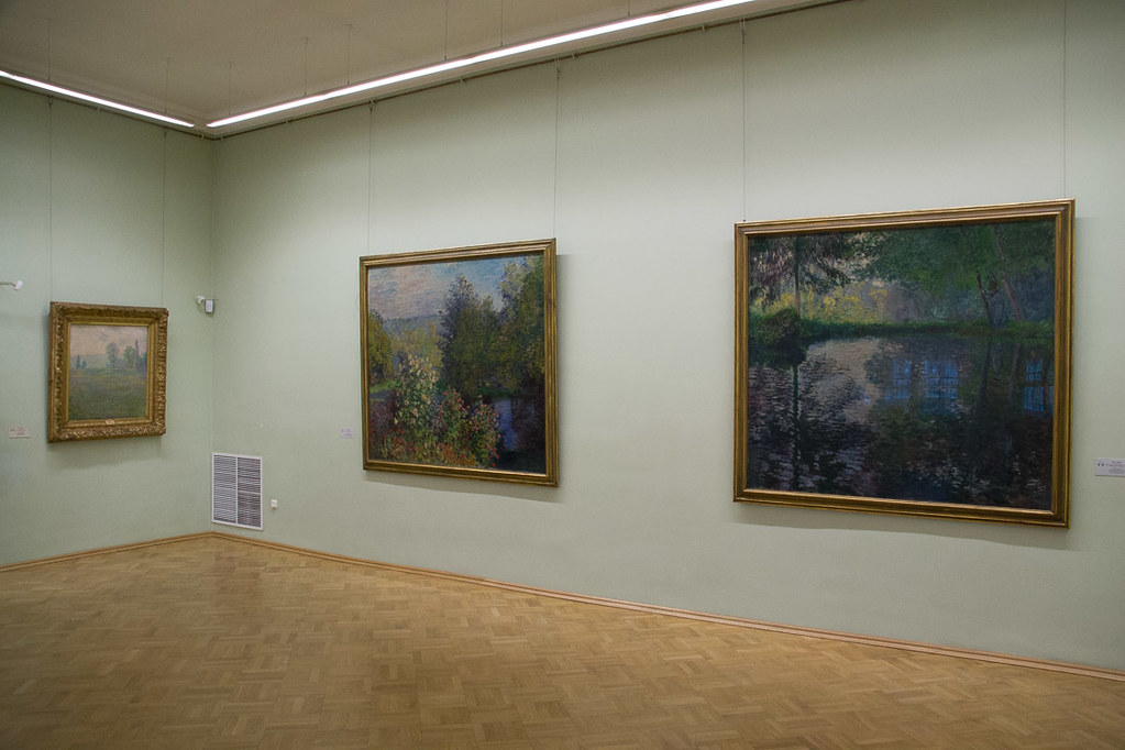Impressionist and Cubist pieces at the Hermitage