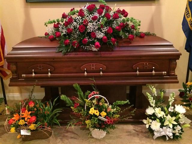 Bull's casket