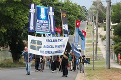 Start of the march to Bakery Hill - Eureka160-IMG_9362