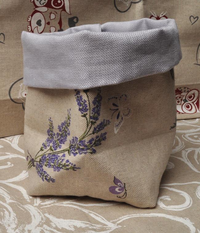 sacchetto-pane, cucito creativo, regalo fatto a mano