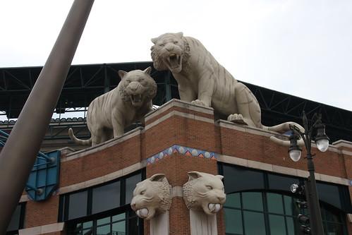 Stade de baseball, Detroit