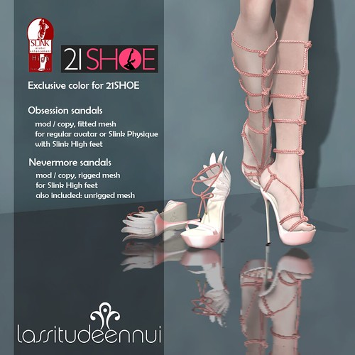 lassitude & ennui for 21SHOE