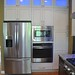 After kitchen remodel. Custom cabinetry, granite tops, Multi colored L.E.D. lighting and new stainless appliances