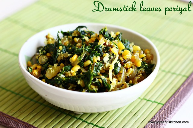 drumstick leaves-poriyal