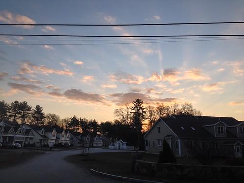 sunrise day clear hopkinton