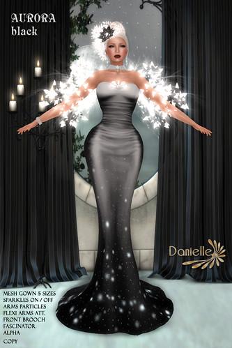 DANIELLE Aurora Black