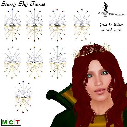 Starry Sky Tiaras