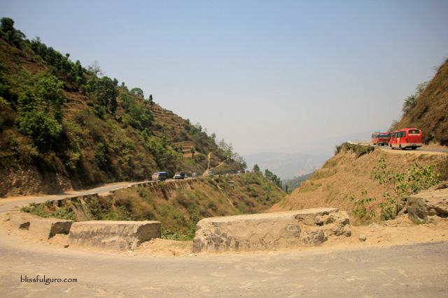 Road From Kathmandu To Pokhara