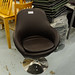 Swivel chair tub