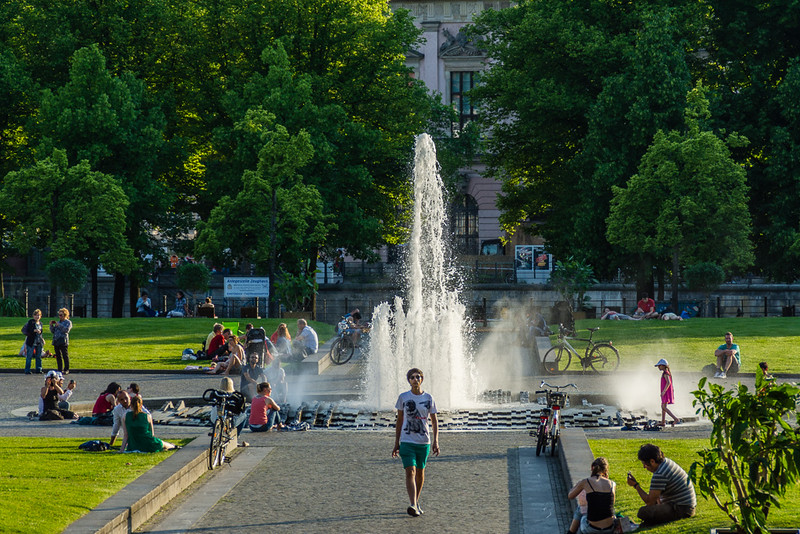 Lustgarten, frente a la catedral de Berlín